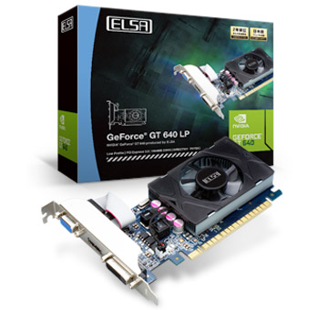 ELSA GEFORCE GT 640 LP 1GB 製品画像
