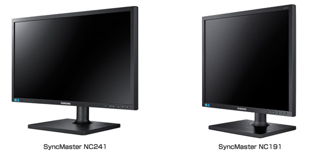 SyncMaster NC241、SyncMaster NC191 製品画像