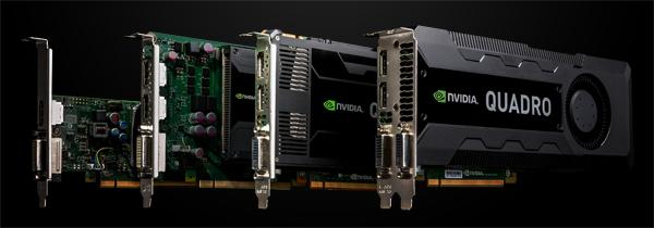 次世代のNVIDIA Quadroシリーズ 製品画像