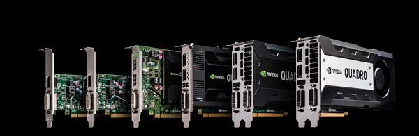 NVIDIA Quadroシリーズ 製品画像