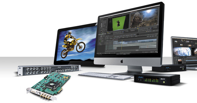 「Autodesk Smoke 2013 ラウンチセミナー」にAJA Video Systems社製品を展示いたします