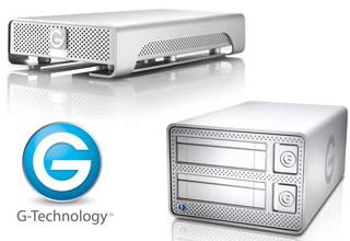 G-Technology 展示製品