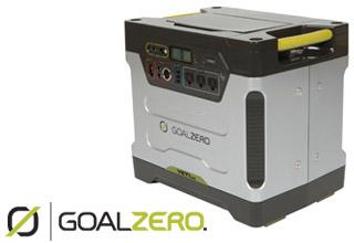 Goal Zero 展示製品