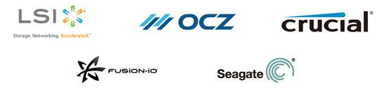LSIロジック、Seagate、OCZ Storage Solutions、Crucial