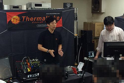Thermaltake 日本アカウントマネージャ Ian Hsieh氏