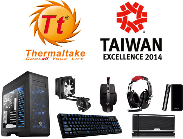 Thermaltake、福岡で日本初開催となる「TAIWAN EXCELLENCE」に出展