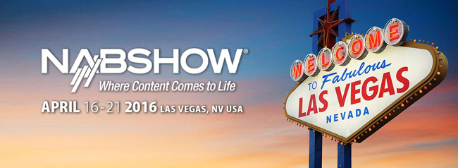 NAB Show 2016、アスク取扱いメーカー出展概要のお知らせ