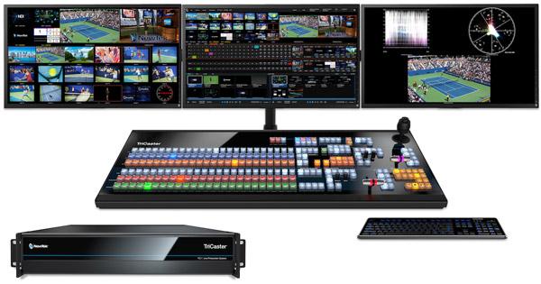 NewTek社、4K/60p対応の最新製品「TriCaster TC1」国内初披露目ツアーのお知らせ