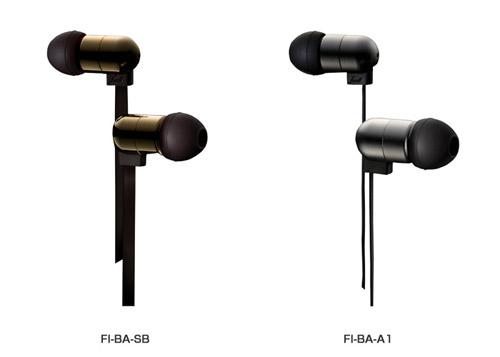 ファイナルオーディオデザイン社 新ジャンルのバランスドアーマチュア型イヤホン FI-BA-SB、FI-BA-A1