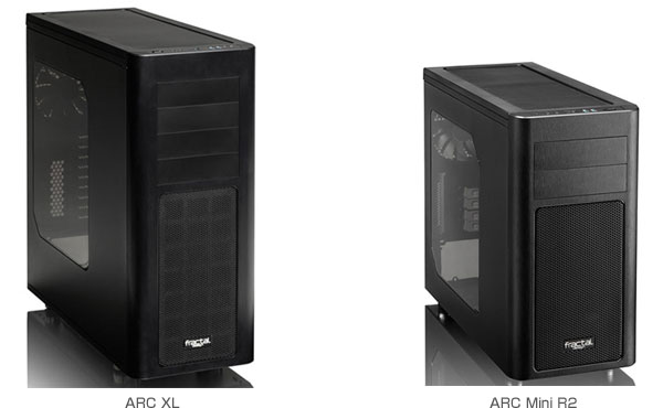 ARC Mini R2、ARC XL 製品画像