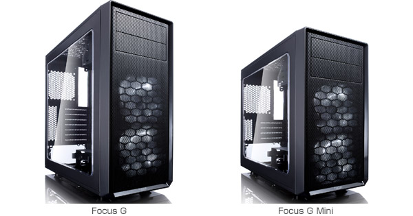 Fractal Design Focus G、Focus G Mini 製品画像