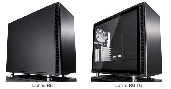 Fractal Design Define R6、Define R6 TG 製品画像
