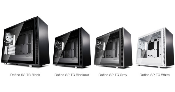 Fractal Design Define S2 TGシリーズ 製品画像