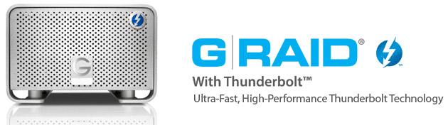 G-Technology、業界最大容量の2ドライブ、RAID 0のThunderbolt™ ストレージソリューションの出荷開始