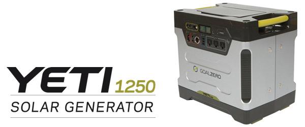Yeti 1250 Solar Generator 製品画像