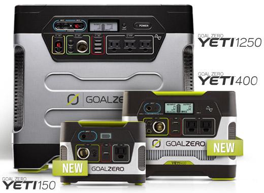 Yeti Solar Generatorシリーズ