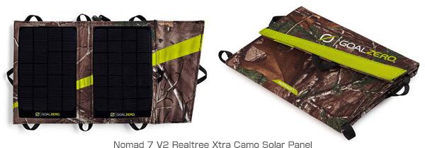 Nomad 7 V2 Realtree Xtra Camo Solar Panel 製品画像