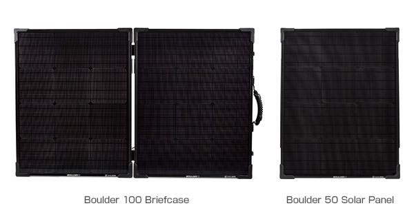 Goal Zero Boulder 100 Briefcase、Boulder 50 Solar Panel 製品画像