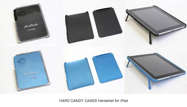 HARD CANDY CASES社製iPad用ケース Hardshell for iPad シリーズ