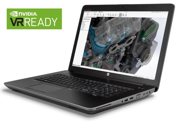 HP社製モバイルワークステーション「ZBook 17 G4」をVR向けのアスク推奨モデルとして取り扱い開始