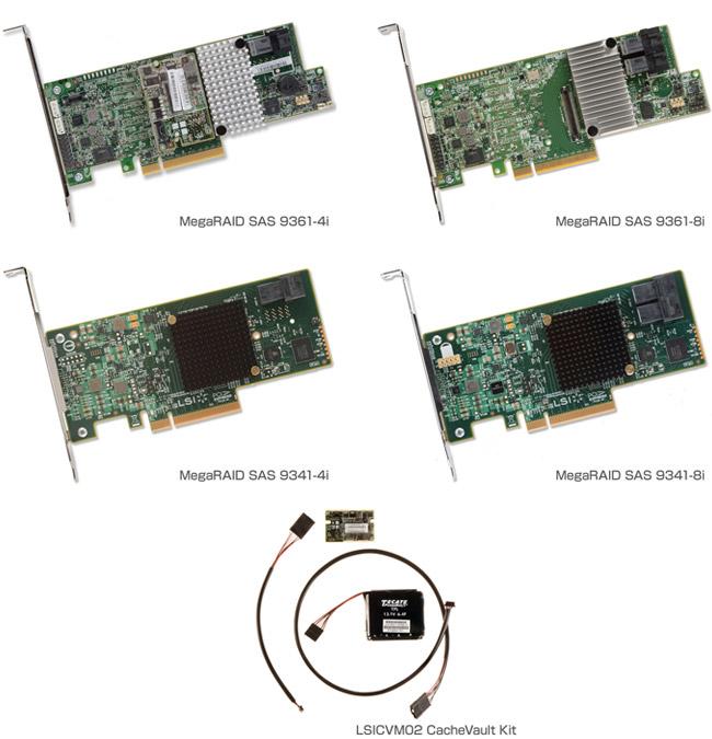 LSI MegaRAID SAS 9300シリーズ 製品画像