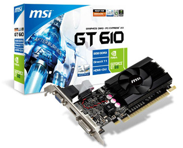 MSI N610GT-MD2GD3/LP 製品画像