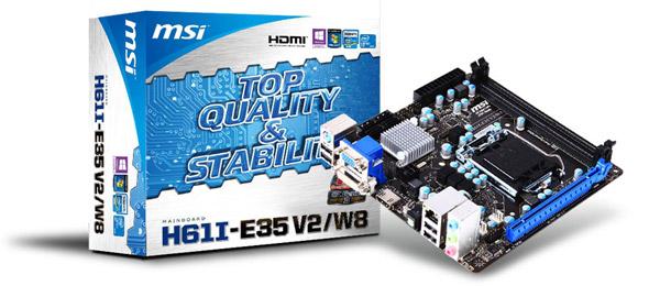 H61I-E35 V2/W8 製品画像