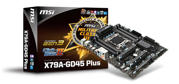 X79A-GD45 Plus 製品画像