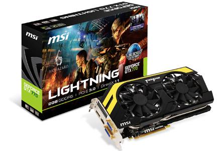 N770GTX Lightning 製品画像