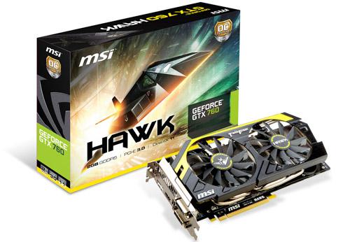 N760GTX HAWK 製品画像