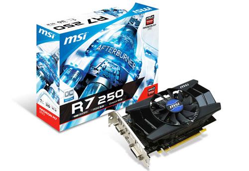 R7 250 1GD5 OC 製品画像