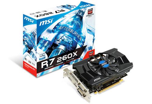 R7 260X 2GD5 OC 製品画像