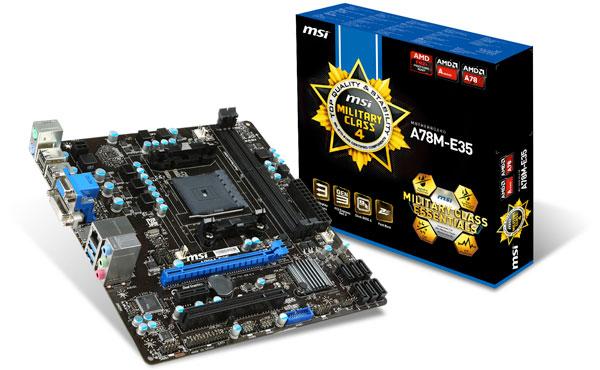 A78M-E35 製品画像