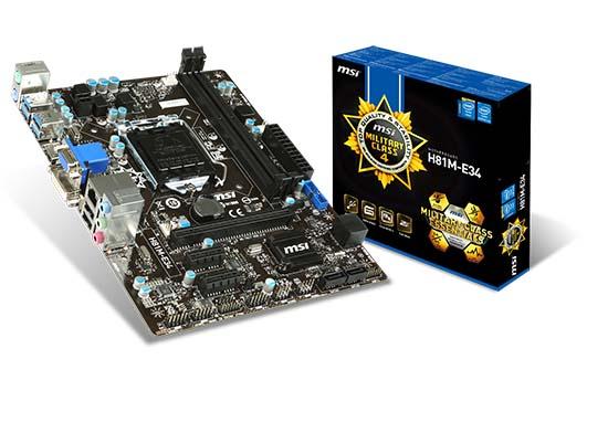 H81M-E34 製品画像