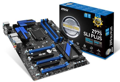 Z97S SLI PLUS 製品画像