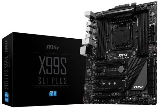 X99S SLI PLUS 製品画像