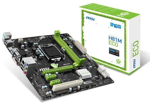 H81M ECO 製品画像