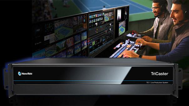 NewTek社、最新ライブ・プロダクションシステム「TriCaster TC1」シリーズを発売開始