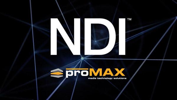 ProMAX Systems社、NewTek NDIを利用したストレージIPワークフローを実現