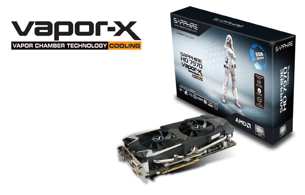 VAPOR-X HD7970 GHZ EDITION 6G GDDR5 製品画像