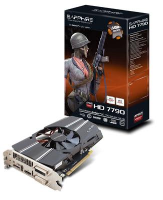 HD7790 1G GDDR5 PCI-E DL-DVI-I+DL-DVI-D / HDMI / DP 製品画像