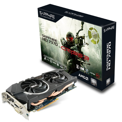 HD7970 3G GDDR5 PCI-E DL-DVI-I+SL-DVI-D / HDMI / DP Crysis 3 Edition 製品画像