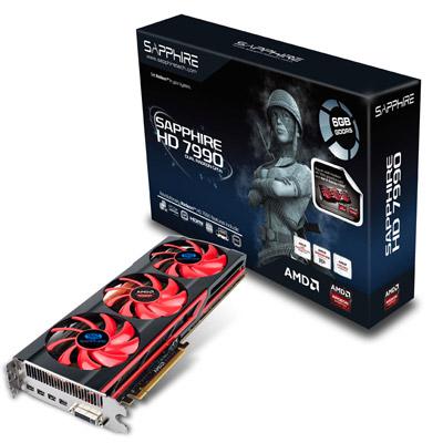 SAPPHIRE HD7990 6GB GDDR5 製品画像