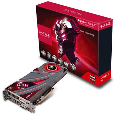R9 290 4G GDDR5 製品画像