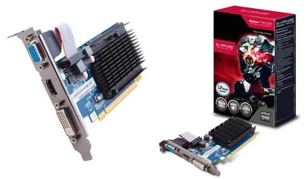 Sapphire R5 230 1G DDR3 PCI-E H/D/V 製品画像