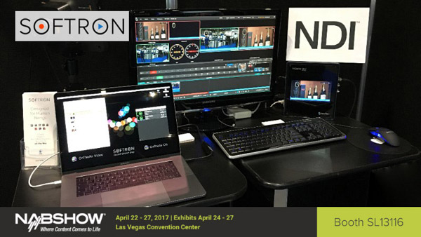 Softron Media Services社、自社のプレイアウト製品をNDIに対応させることを発表