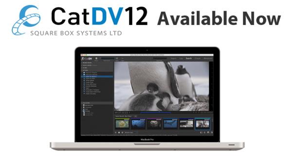Square Box Systems社、CatDV 12を正式にリリース