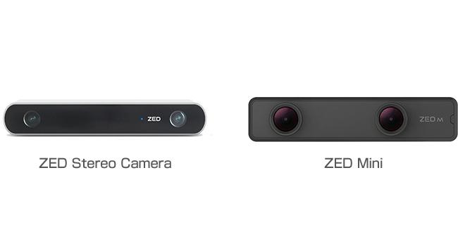 STEREO LABS ZED Stereo Camera/ZED Mini 製品画像