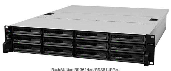 RackStation RS3614xs/RS3614RPxs 製品画像