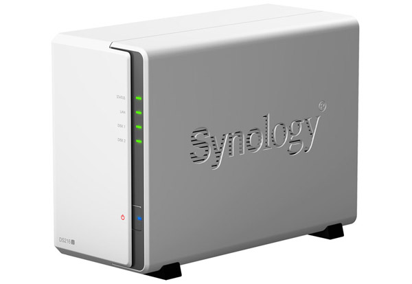 Synology DiskStation DS216j 製品画像